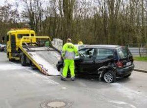 Evropsko poročilo o prometni nesreči se izpolni ob nesreči brez telesnih poškodb